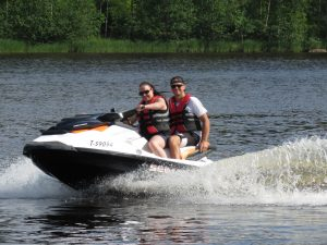Jet Skiing at Tahko-Tours